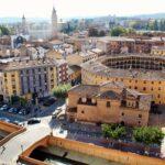 Vistas panorámicas de Tarazona desde el Palacio Episcopal