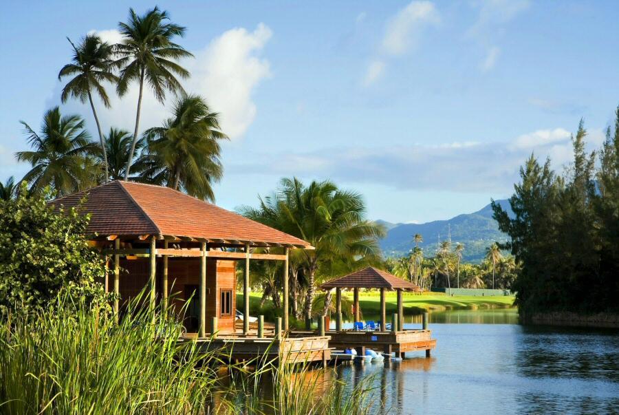 Casa de un lujoso resort en Puerto Rico