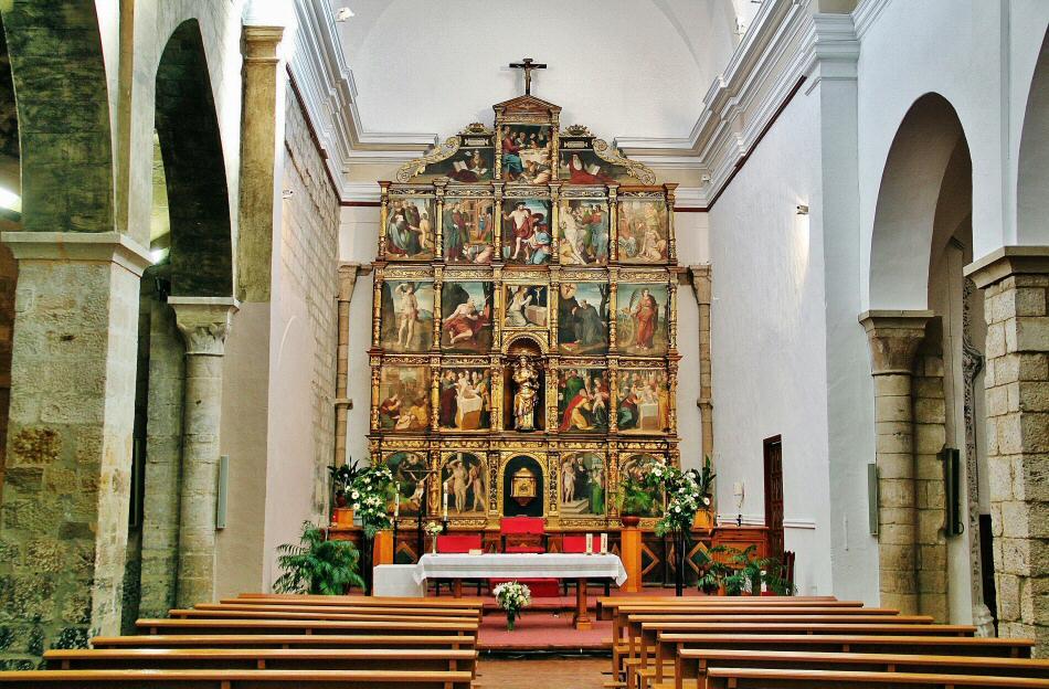 Iglesia de la Magdalena en Tarazona en Aragón
