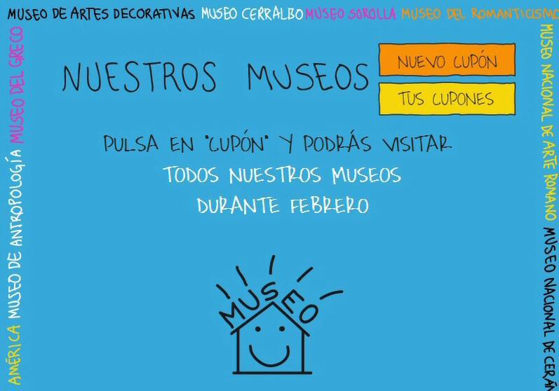 Promoción para visitar gratis los museos estatales