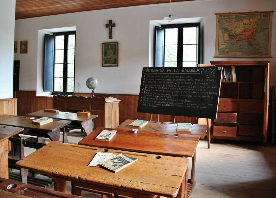 Museo de la Escuela Rural de Asturias en Viñón
