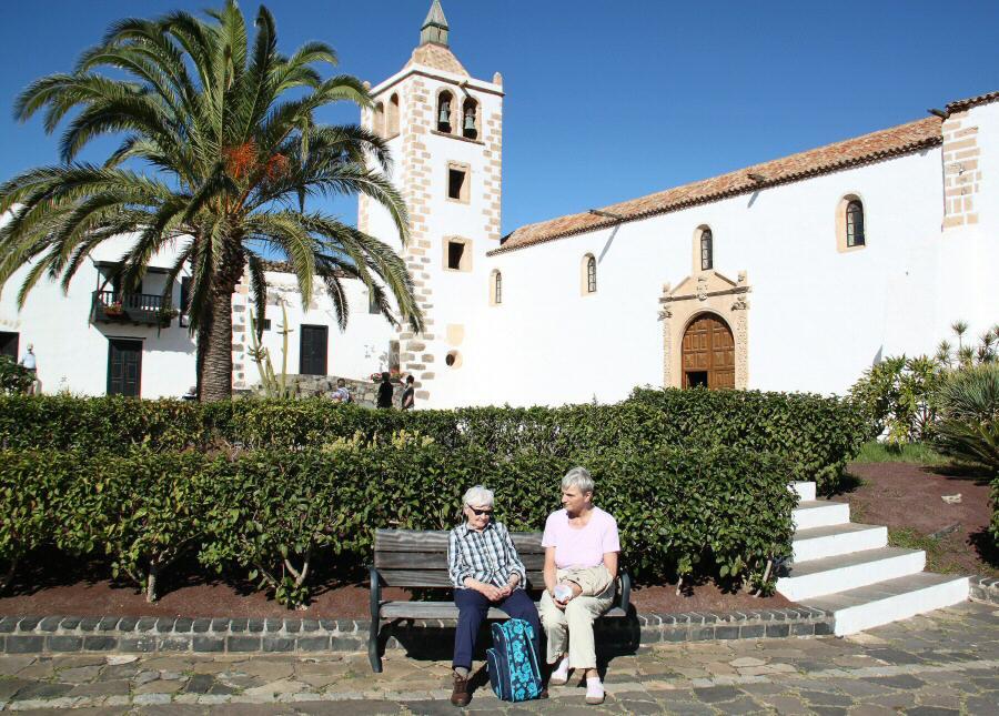 Iglesia catedral de Betancuria en Fuerteventura