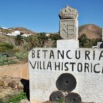 Villa histórica de Betancuria en Fuerteventura