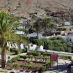 Plaza principal de Betancuria en Fuerteventura