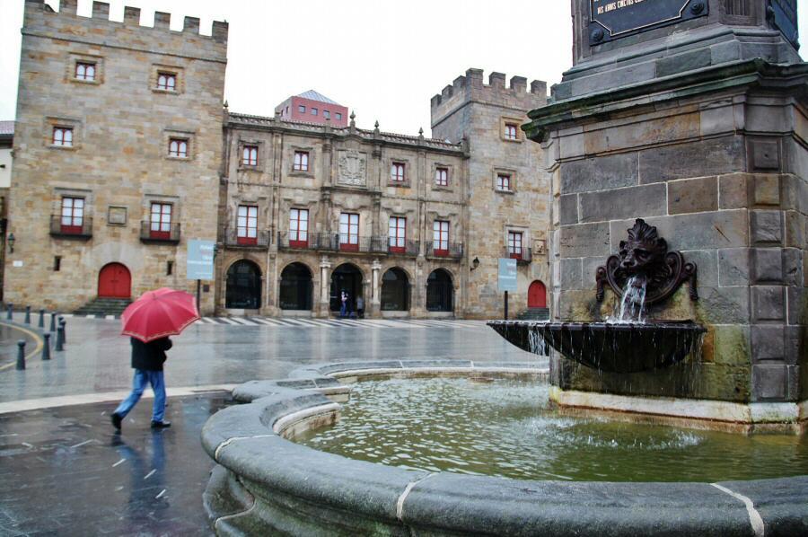 Palacio Revillagigedo en Cimavilla en Gijón