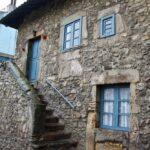 Antigua casa de pescadores en Cimavilla en Gijón