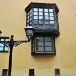 Rincón de la plaza de La Corrada en Cimavilla en Gijón