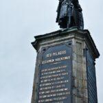 Monumento a Pelayo en Cimavilla en Gijón