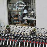 Alquiler de bicicletas en la isla de Aix al oeste de Francia