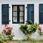 Arquitectura popular en la isla de Aix al oeste de Francia