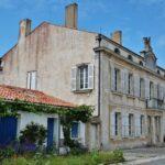 Casa del Emperador en la isla de Aix al oeste de Francia