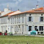 Hotel Napoleón en la isla de Aix al oeste de Francia