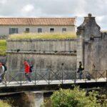 Fuerte de la Rade en la isla de Aix al oeste de Francia
