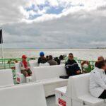 Travesía en ferry a la isla de Aix al oeste de Francia