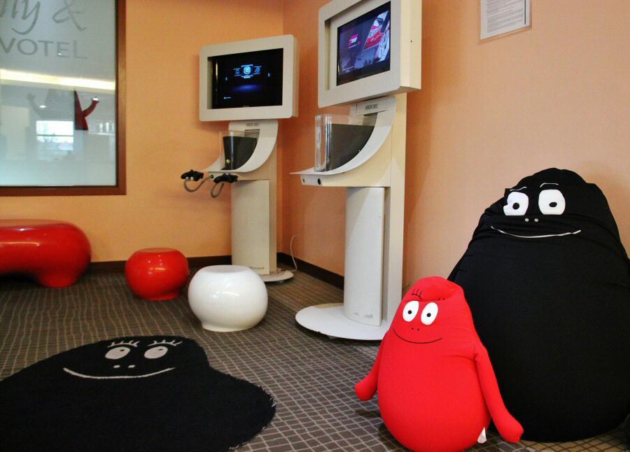Zona de juegos Family&Novotel en hoteles Novotel