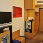 Detalle de la habitación de los hoteles Novotel