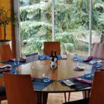 Restaurante Claravia en el hotel Novotel Puente de la Paz de Madrid