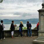 Mirador del lago de Murten en Suiza