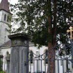 Iglesia católica de Murten en Suiza