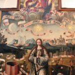 Pintura en la iglesia de la Magdalena en Tarazona