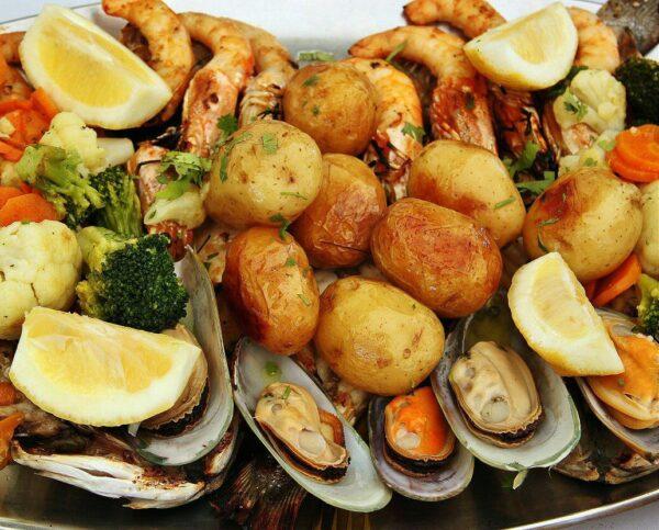 Restaurante en la Boca del Infierno en Cascais