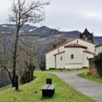 Iglesia románica de San Vicente Serrapio en Asturias