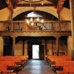 Nave de la iglesia de San Vicente Serrapio en Asturias