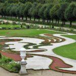 Jardín frances del palacio de Charlottenburg en Berlín