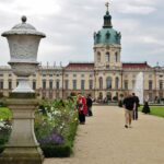 Jardín francés del palacio de Charlottenburg en Berlín