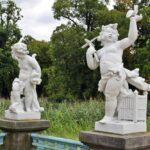 Esculturas en los jardines del palacio de Charlottenburg en Berlín