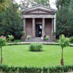 Mausoleo en los jardines del palacio de Charlottenburg en Berlín