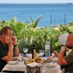 Restaurante junto a la Boca del Infierno en Cascais