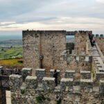 Torres del castillo de Trujillo en Extremadura