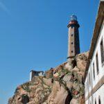 Faro del Cabo Vilán en la Costa da Morte de Galicia