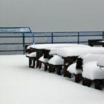 Mirador del funicular de Tromso al norte de Noruega