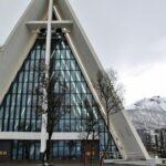Catedral Artica en Tromso en Noruega