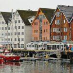 Puerto de Tromso en Noruega