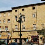 Edificios de la plaza de la Paz en Haro en La Rioja