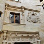 Fachada del palacio de Bendaña en Haro en La Rioja