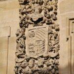 Escudo en el palacio de las Bezaras en Haro en La Rioja
