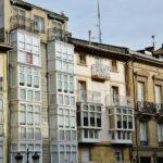 Casas con galerías acristaladas en Haro en La Rioja