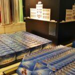 Tienda de chocolates en la fábrica Cailler en Suiza