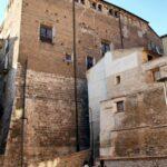 Fachada posterior del palacio Episcopal de Tarazona