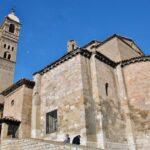 Iglesia de la Magdalena en el barrio medieval del Cinto en Tarazona
