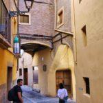Rincón del barrio medieval del Cinto en Tarazona