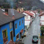 Antiguo poblado minero de Bustiello en Asturias