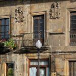 Edificio en el centro histórico de Villaviciosa en Asturias