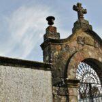 Cementerio de la glesia de San Juan de Amandi en Villaviciosa