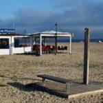 Chiringuito en la playa de Cambrils