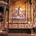 Cuadro de Zurbarán en la Sacristía del monasterio de Guadalupe